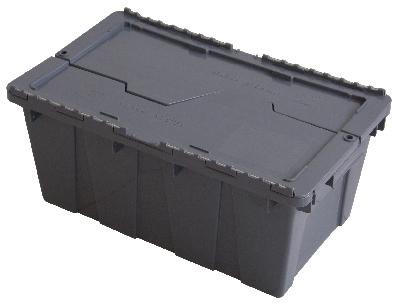 Caja con tapa de Bisagra 50 21