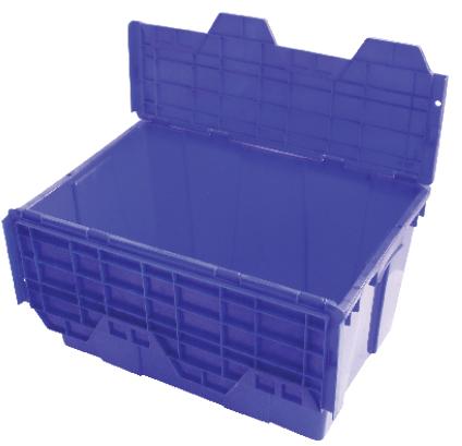 Caja con tapa de Bisagra 60-32