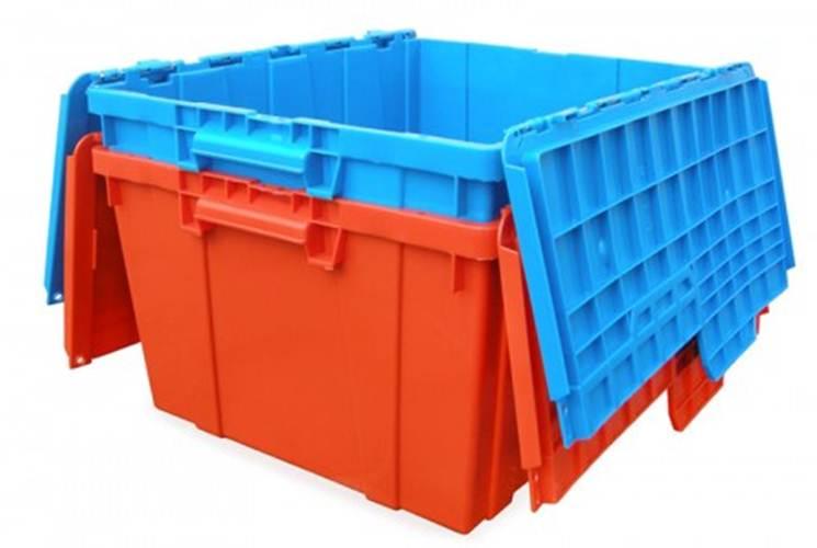 caja con tapa de bisagra 60-50