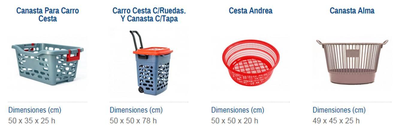 cestos para lavanderia 2